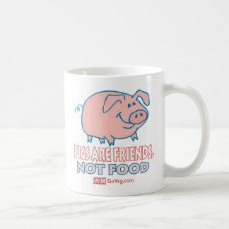 Schweine sind Freund-Tasse