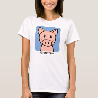 Schweine sind Freunde T-Shirt