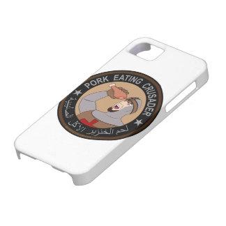 Schweinefleisch, das Kreuzfahrer isst iPhone 5 Schutzhüllen