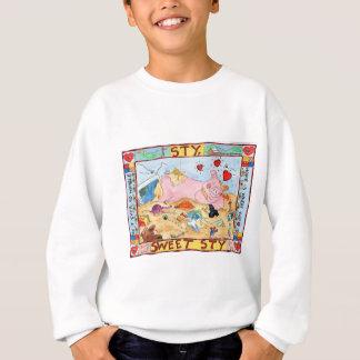 Schweinestall, süßer Schweinestall Sweatshirt