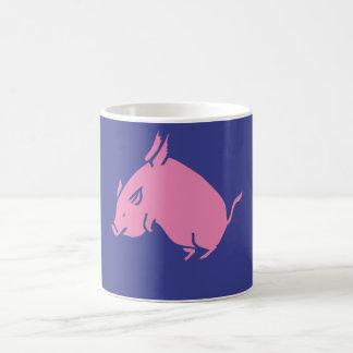 Schweinfliegen-Kaffee-Tasse Kaffeetasse