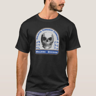 Schweißens-Abteilung - galaktischer T-Shirt