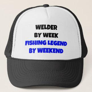 Schweißer durch Wochen-Fischen-Legende bis zum Truckerkappe