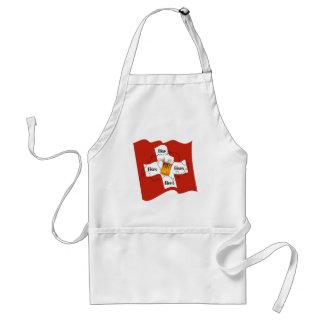 Schweiz - Suisse - Svizzera - Svizra - Switzerland Schürze