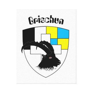 Schweiz  Suisse  Switzerland Graubünden Leinwanddruck