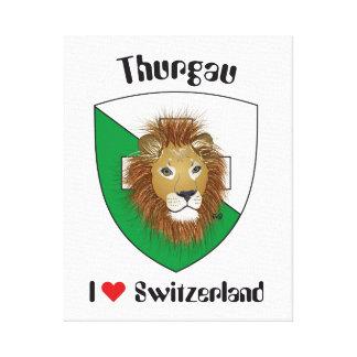 Schweiz  Suisse  Switzerland Thurgau Leinwanddruck