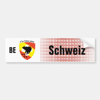 Schweiz Svizzera Suisse Bern Autoaufkleber