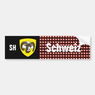 Schweiz Svizzera Suisse Schaffhausen Autoaufkleber