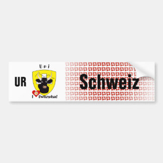 Schweiz Svizzera Suisse Uri Autoaufkleber