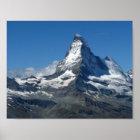 Schweizer Alpen-Plakat Matterhorns Poster