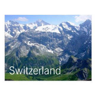 Schweizer Alpen Postkarte