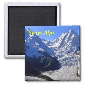 Schweizer Alpenmagneten Quadratischer Magnet