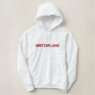 Schweizer alpine Nations-patriotisches Kleid der Hoodie