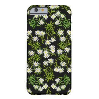 Schweizer Edelweiss alpiner Blumen iPhone 6 Fall Barely There iPhone 6 Hülle