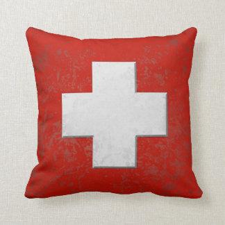 Schweizer Fan Kissen