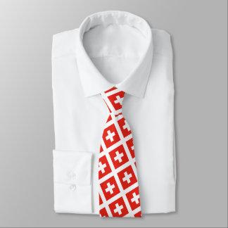 Schweizer Flagge Individuelle Krawatten