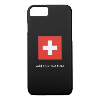 Schweizer Flagge iPhone 8/7 Hülle