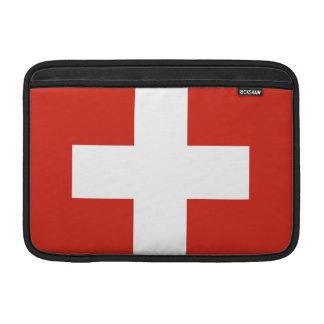 Schweizer Flagge MacBook Sleeve