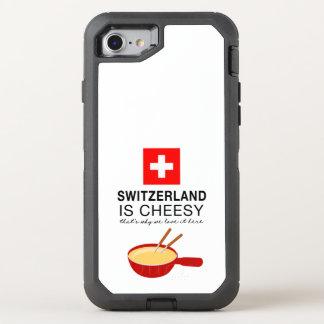 Schweizer Fondue lustig OtterBox Defender iPhone 8/7 Hülle