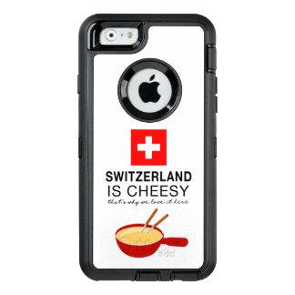 Schweizer Fondue lustig OtterBox iPhone 6/6s Hülle