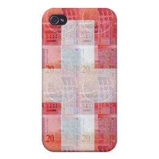 Schweizer Geld u. Flagge Etui Fürs iPhone 4