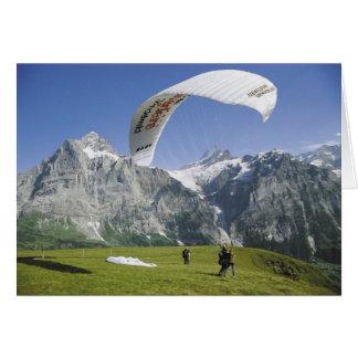 Schweizer Grußkarten, Grindelwald, Karte