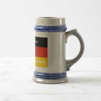 Schweizer Haus-Schlagzeuger Bierglas