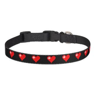 Schweizer Herz Haustierhalsband