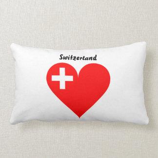 Schweizer Herz Lendenkissen
