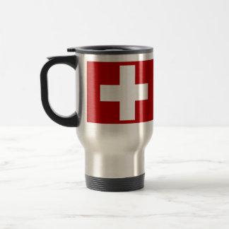 Schweizer Kreuz Reisebecher
