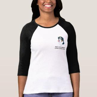 Schweizer lecken den Wecker der Frauen T-Shirt