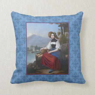 Schweizer traditioneller Kostüm-Antiken-Druck Bern Kissen
