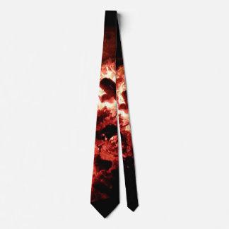 Schwelende heiße Krawatte
