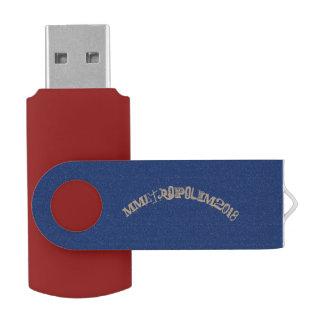Schwenker-Blitz-Antrieb, 8-128 GB, beschriften USB Stick
