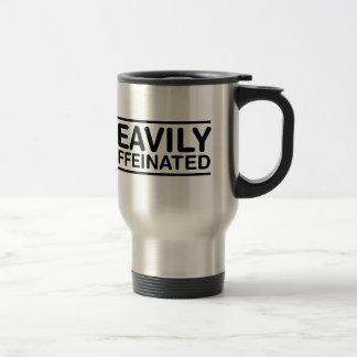 Schwer Caffeinated Reisebecher