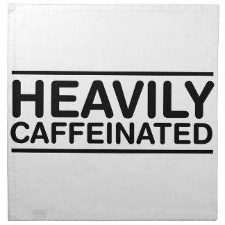 Schwer Caffeinated Stoffserviette
