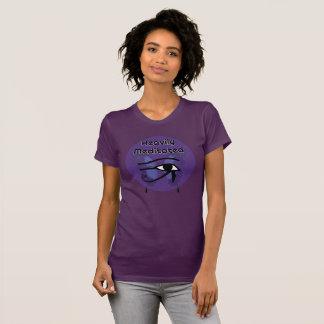 Schwer meditiert mit Auge von Horus T-Shirt