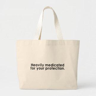 Schwer medizinisch behandelt für Ihren Schutz Jumbo Stoffbeutel