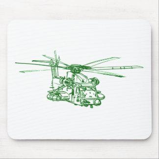 Schwerer Hubschrauber US Mousepads