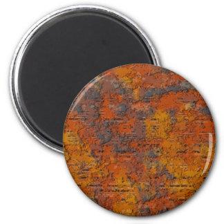 Schwerer Rost Runder Magnet 5,7 Cm