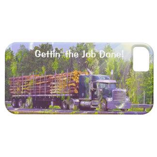 Schwerer Transport-aufzeichnenlkw-Fahrer iPhone 5 Schutzhülle Fürs iPhone 5
