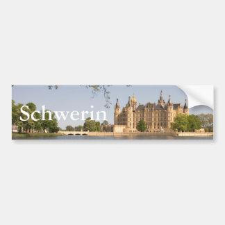 Schwerin-Schloss Autoaufkleber