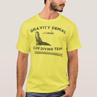 Schwerkraft-Ablehnungs-Klippen-Tauchteam T-Shirt