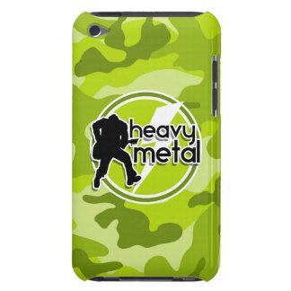 Schwermetall hellgrüne Camouflage Tarnung iPod Case-Mate Case