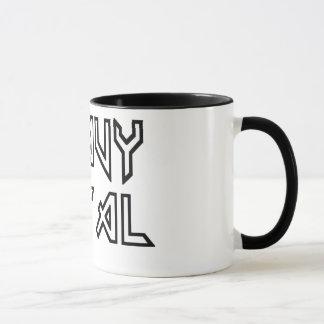 Schwermetall Tasse