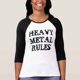 SCHWERMETALLregeln T-Shirt