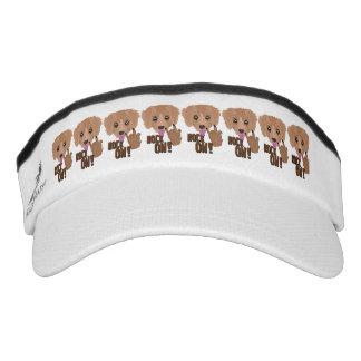Schwermetallwelpenfelsen an visor