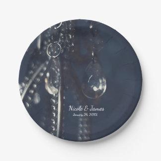 Romantisch teller for Blaue pappteller