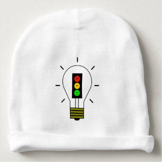 Schwermütige Stoplight-Glühlampe Babymütze
