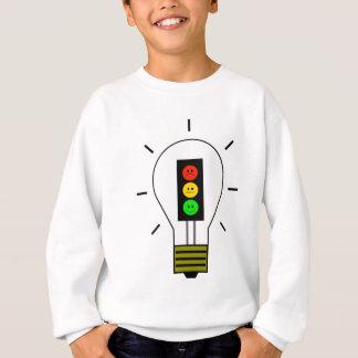 Schwermütige Stoplight-Glühlampe Sweatshirt